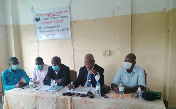 Crise au parti CPP : Akolly Emmanuel